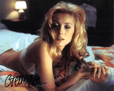 Deneuve, Catherine - Signed Photo