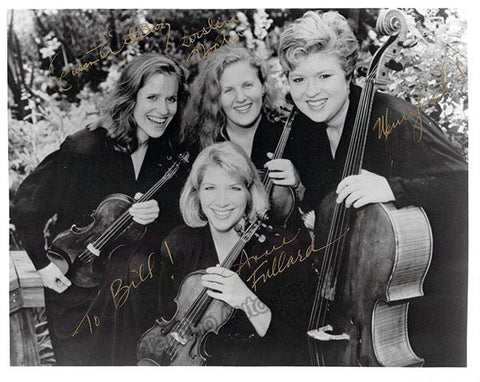 Cavani String Quartet - Signed Photo by All 4 Members