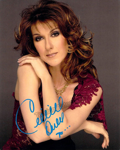 Dion, Celine - Signed Photo