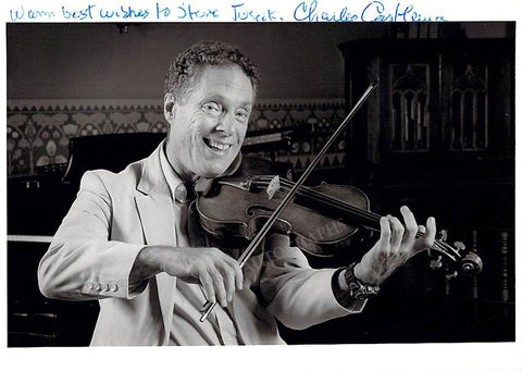 Castleman, Charles - Signed Photo Playing
