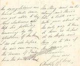 Horn, Charles Edward  - Autograph Letter Signed