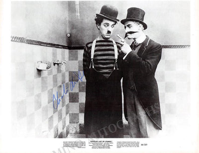 Chaplin, Charlie - Signed Photo