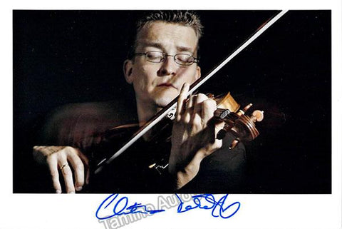 Tetzlaff, Christian - Signed Photo Performing