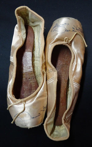 Kistler, Darci - Signed Pointe Shoes