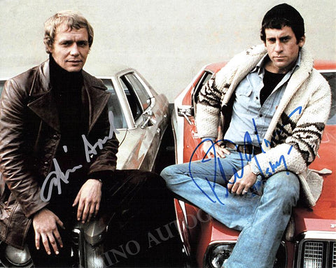 "Soul, David - Glaser, Paul - Double Signed Photo in ""Starsky & Hutch"""