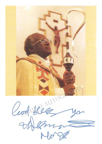 Tutu, Desmond - Signed Photo