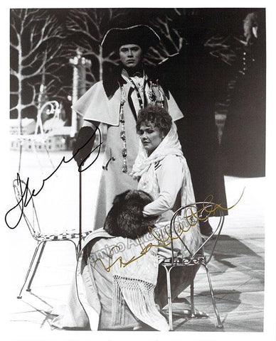 Hvorostovsky, Dmitri - Mattila, Karita - Double Signed Photo in Roles