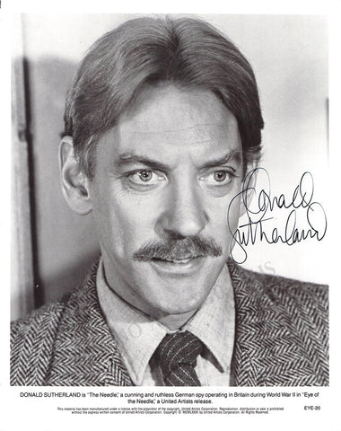 Sutherland, Donald - Signed Photo