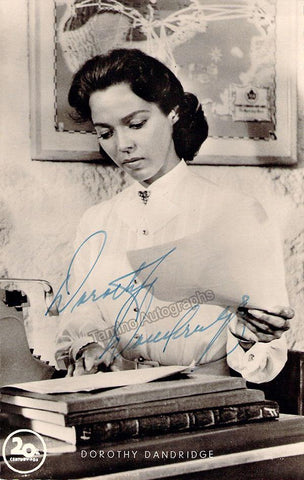 Dandridge, Dorothy - Signed Photograph