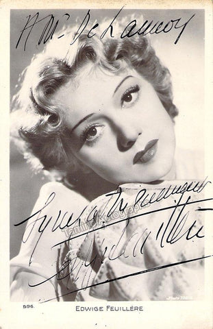 Feuillere, Edwige - Signed Photograph
