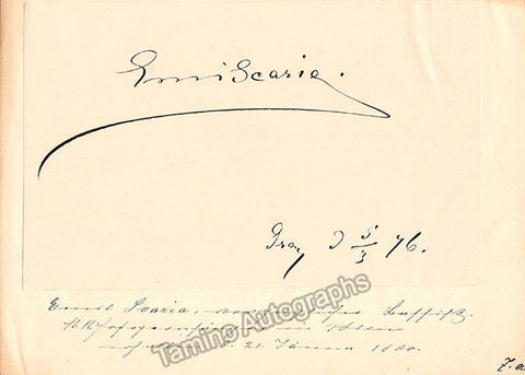 Scaria, Emil - Signed Album Page 1876