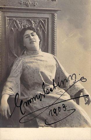 Destinn, Emmy - Signed Photograph in Role 1909