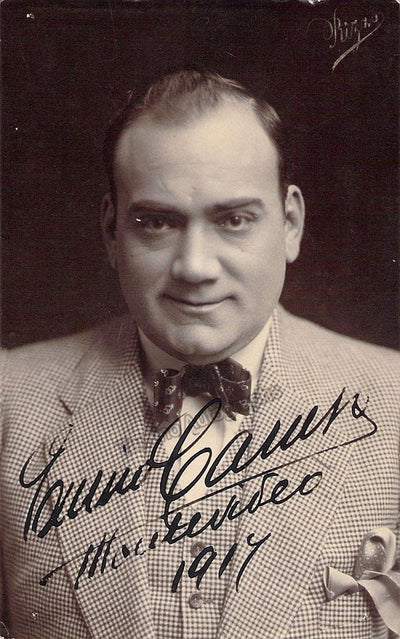 Caruso, Enrico - Signed Photo 1917