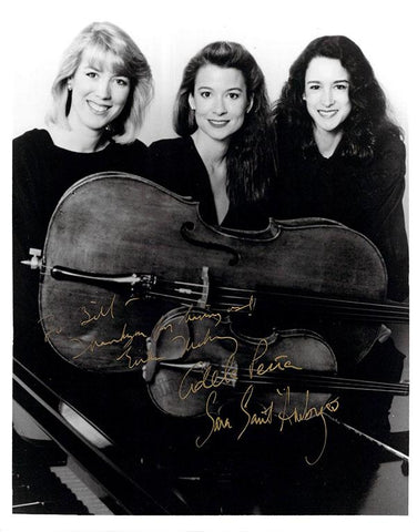 Eroica Trio Group - Signed Photo by All 3 Members