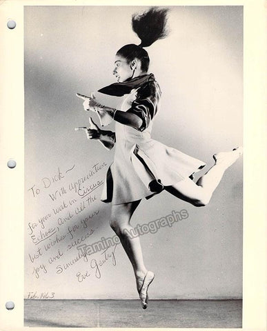 Gentry, Eve - Signed Photo 1963