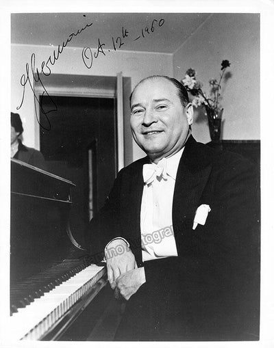 Germani, Fernando - Signed Photo at the Piano