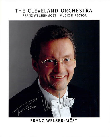 Welser-Most, Franz - Signed Photo
