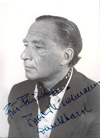 Weissmann, Frieder - Signed Photo
