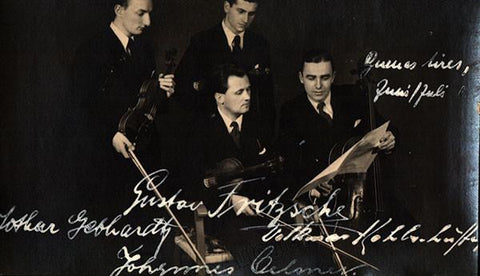Fritzsche Quartet - Dresden - Signed Photo