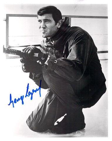 "Lazenby, George - Signed Photograph in ""James Bond"""