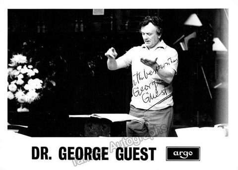 Guest, George - Signed Photo in Rehearsal
