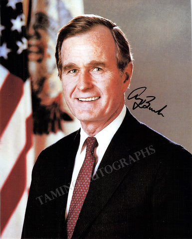 Bush, George H. W. - Signed Photo