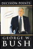 "Bush, George W. - Signed Book ""Decision Points"" - Tamino"