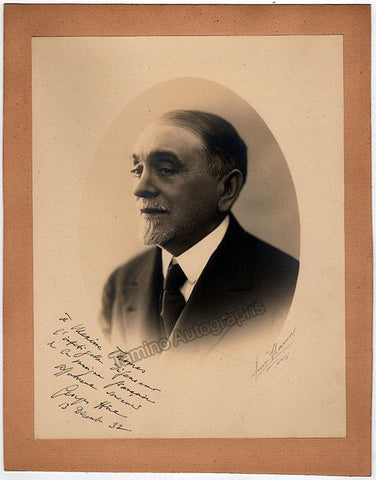 Hue, Georges - Large Signed Photo 1932