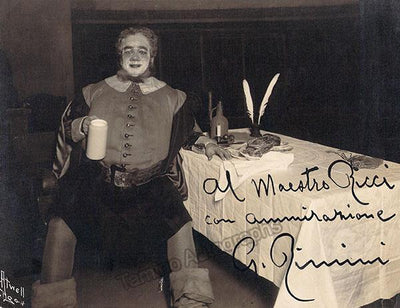 Rimini, Giacomo - Signed Photo in Falstaff