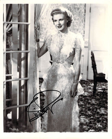 Rogers, Ginger - Signed Photo