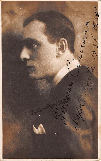 Cimara, Giovanni - Signed Photo