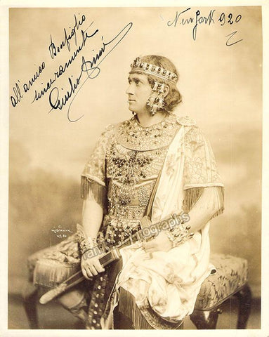 Crimi, Giulio - Signed Photo in Role