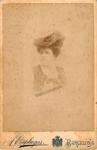 Huguet, Giuseppina - Cabinet photo