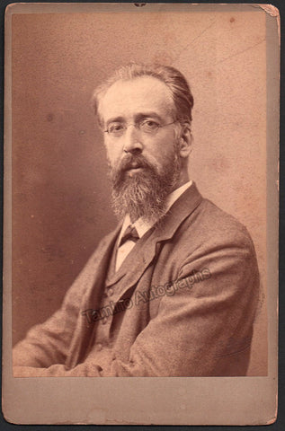 Huberti, Gustave - Cabinet Photo
