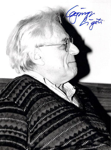 Ligeti, Gyorgy - Signed Photo