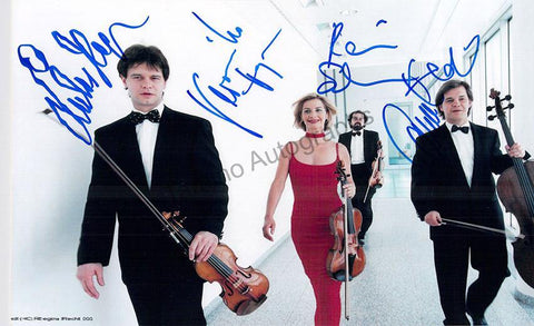 Hagen String Quartet - Larger Size Signed Photo
