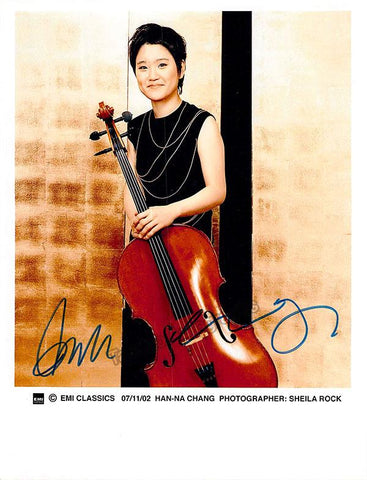 Chang, Han-Na - Signed Photo