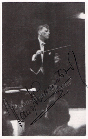 Knappertsbusch, Hans - Signed Photo Conducting