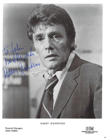 Guardino, Harry - Signed Photo in TV Show