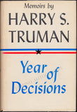 "Truman, Harry S. - Signed Book ""Memoirs by Harry S. Truman"" 2 Volumes - Tamino"