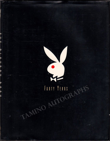 "Hefner, Hugh - Signed Book ""The Playboy Book - The Complete Pictorial History"""
