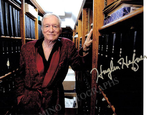 Hefner, Hugh - Signed Photo