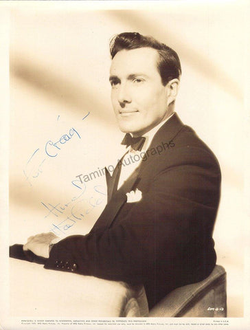 "Hatfield, Hurd - Signed Photo in ""The Picture of Dorian Gray"""