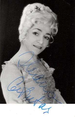 Cotrubas, Ileana - Signed Photo in Rosenkavalier