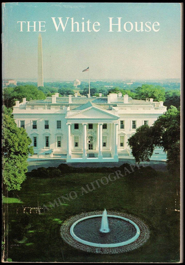 Kennedy, Jacqueline - Signed White House Visitors Guide