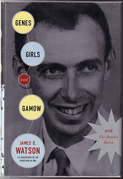 "Watson, James - Signed Book ""Genes, Girls and Gamow"""