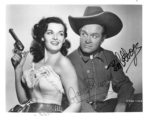 Hope, Bob - Russell, Jane - Double Signed Photograph