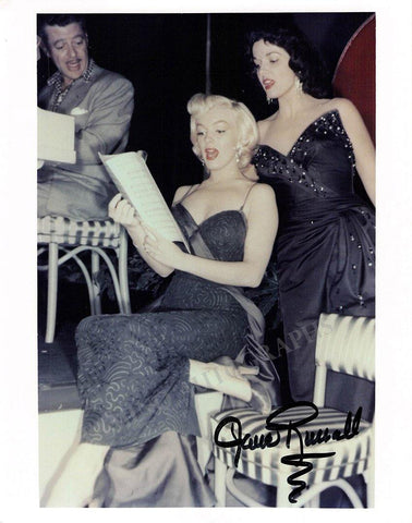 Russell, Jane - Signed Photograph