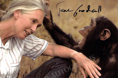 Goodall, Jane - Signed Photo