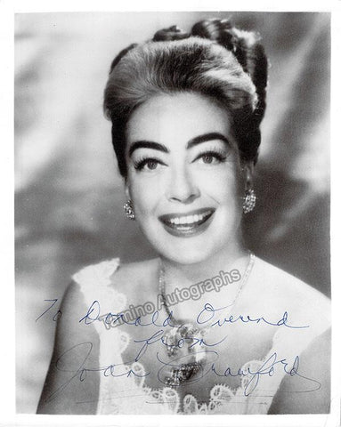 Crawford, Joan - Signed Photo Young